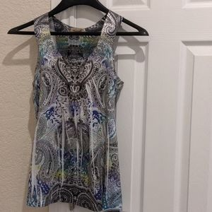 One world tank top blouse